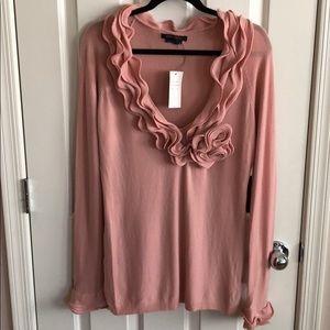 BCBG Pink Sweater
